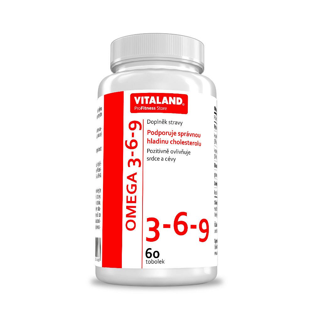 Vitaland Omega 3-6-9 120mg 60 tobolek