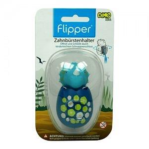 FLIPPER FUN ANIMAL DINO antibakteriální kryt na zubní kartáček