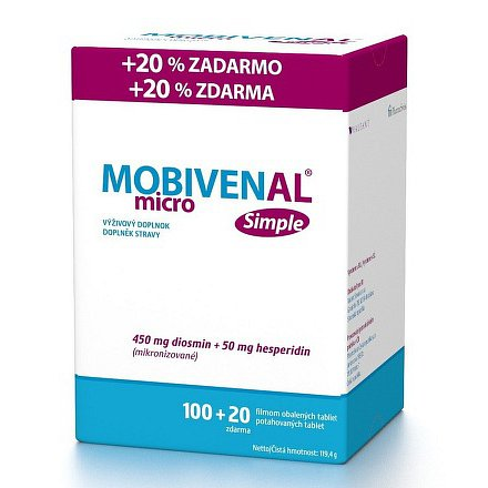 Mobivenal Micro Simple tbl.100+20