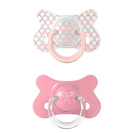 Suavinex Šidítko Fusion Memories anatomický silikon růžová 4-18m