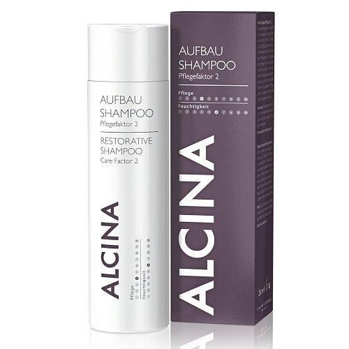 Alcina Regenerační šampon pro silně poškozené vlasy 250 ml