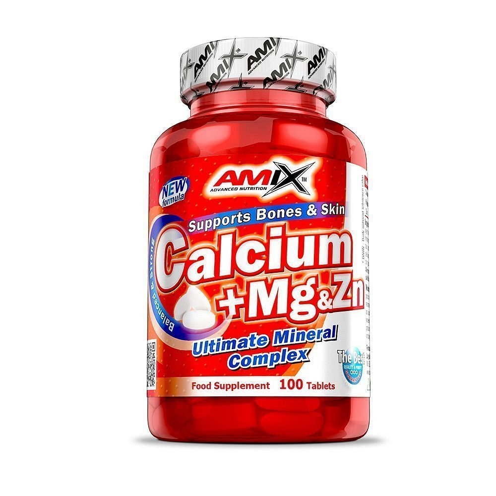 Amix Ca + Mg + Zn, 100 tablet