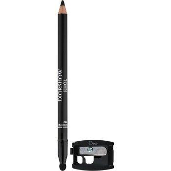Dior Diorshow Khôl voděodolná tužka na oči s ořezávátkem odstín 099 Black Khôl 1,4 g