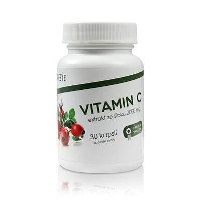 Vieste Vitamin C ze šípku 2000mg cps.30
