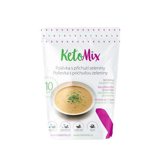 KetoMix Proteinová polévka 300g (10 porcí) s příchutí zeleniny