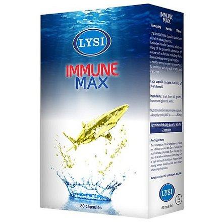 LYSI Immune max - žralok 80cps