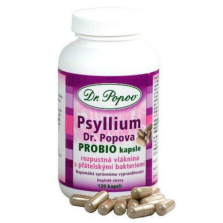 Psyllium PROBIO kapsle  110 ks + 10 ks