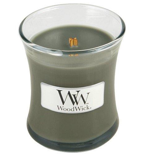 WoodWick  Vonná svíčka váza Evening Bonfire  85 g