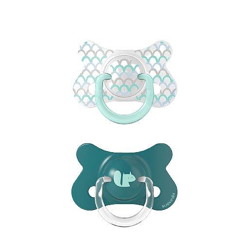 Suavinex Fusion Memories fyziiologický silikon zelený +18m 2ks