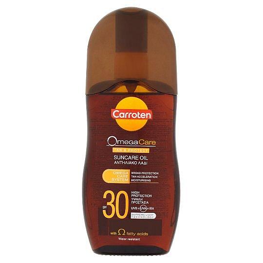 Carroten Omega Care olej na opalování a ochranu kůže SPF 30 125 ml