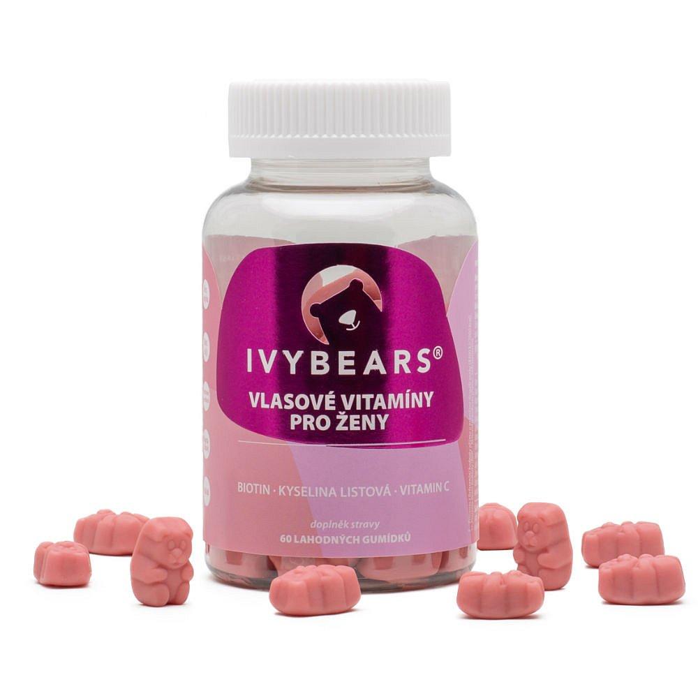IVY Bears vlasové vitamíny pro ženy 60 kusů