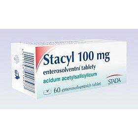 Stacyl 100 mg enterosolv. perorální tablety Enterosolventní měkká  60 x 100 mg