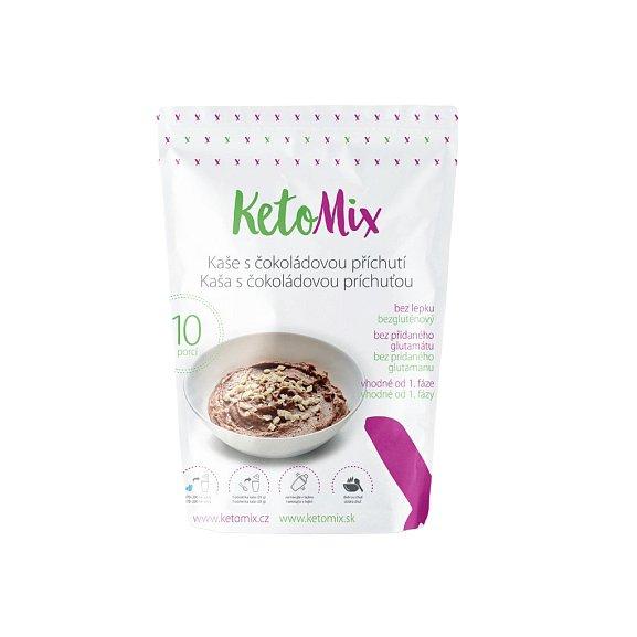 KetoMix Proteinová kaše 280g (10 porcí) s čokoládovou příchutí