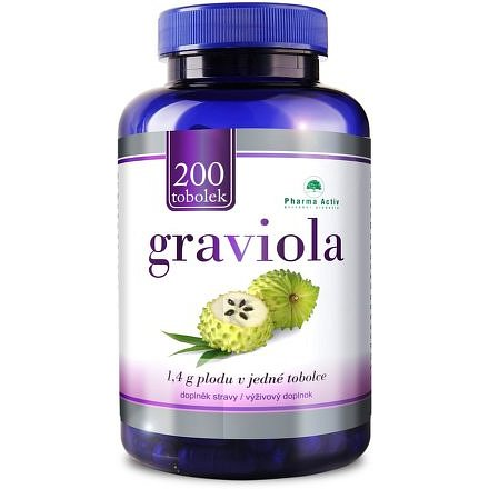 Pharma Activ Graviola 200 kapslí