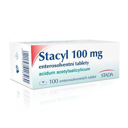 Stacyl 100 mg enterosolv. perorální tablety Enterosolventní měkká 100 x 100 mg