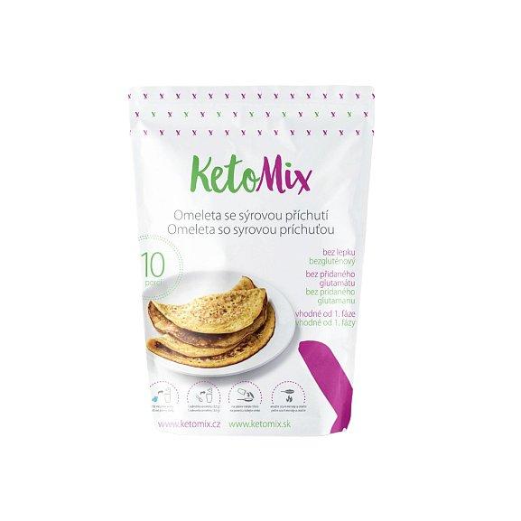 KetoMix Proteinová omeleta 320g (10 porcí) se sýrovou příchutí