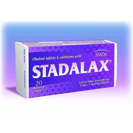 Stadalax perorální tablety potažené 20 x 5 mg