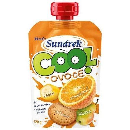 Sunárek Cool ovoce pomeranč banán sušenka 120 g