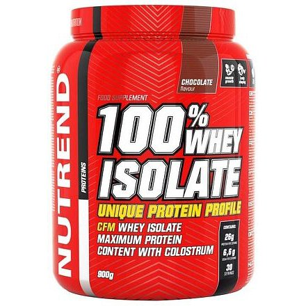 100% WHEY ISOLATE 900 g čokoláda