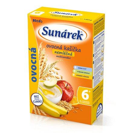 Sunarka ovocná kašička nemléčná s 8cereáliemi 180g