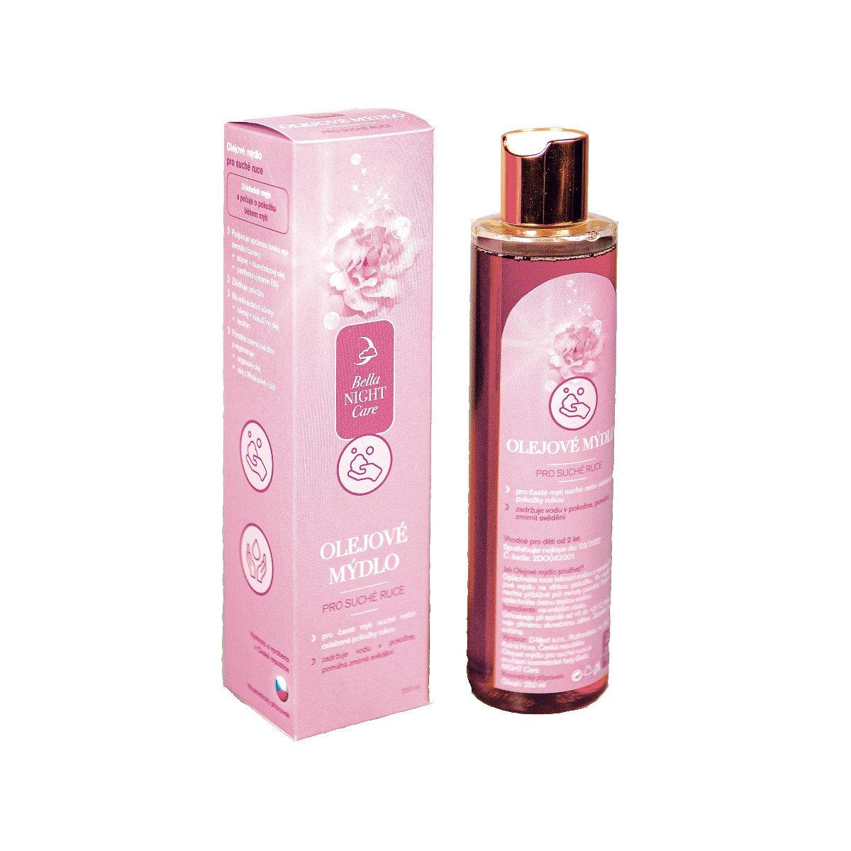 Bella NIGHT Care Olejové mýdlo pro suché ruce 250 ml