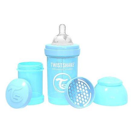 Kojenecká láhev Anti-Colic 180ml (dudl.S) Pastelově modrá