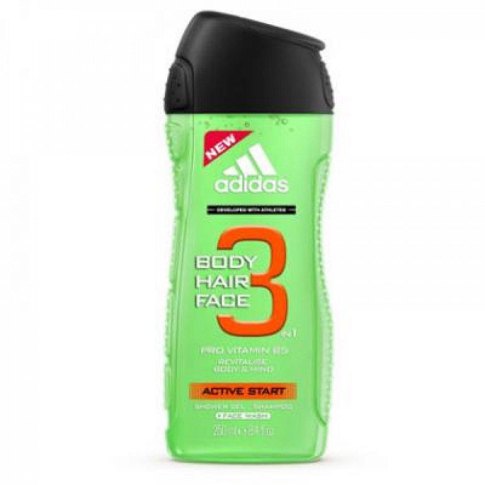 ADIDAS A3 Sprchový gel Men Hair&Body Active Start 250 ml