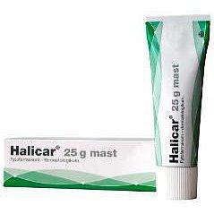 Halicar dermální mast 1 x 25 g