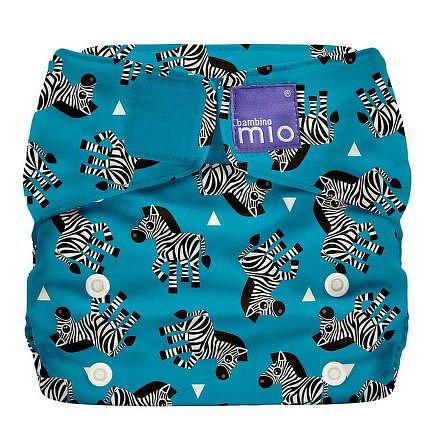 Bambino Mio Miosolo látková plenka all in one Zebra Crossing