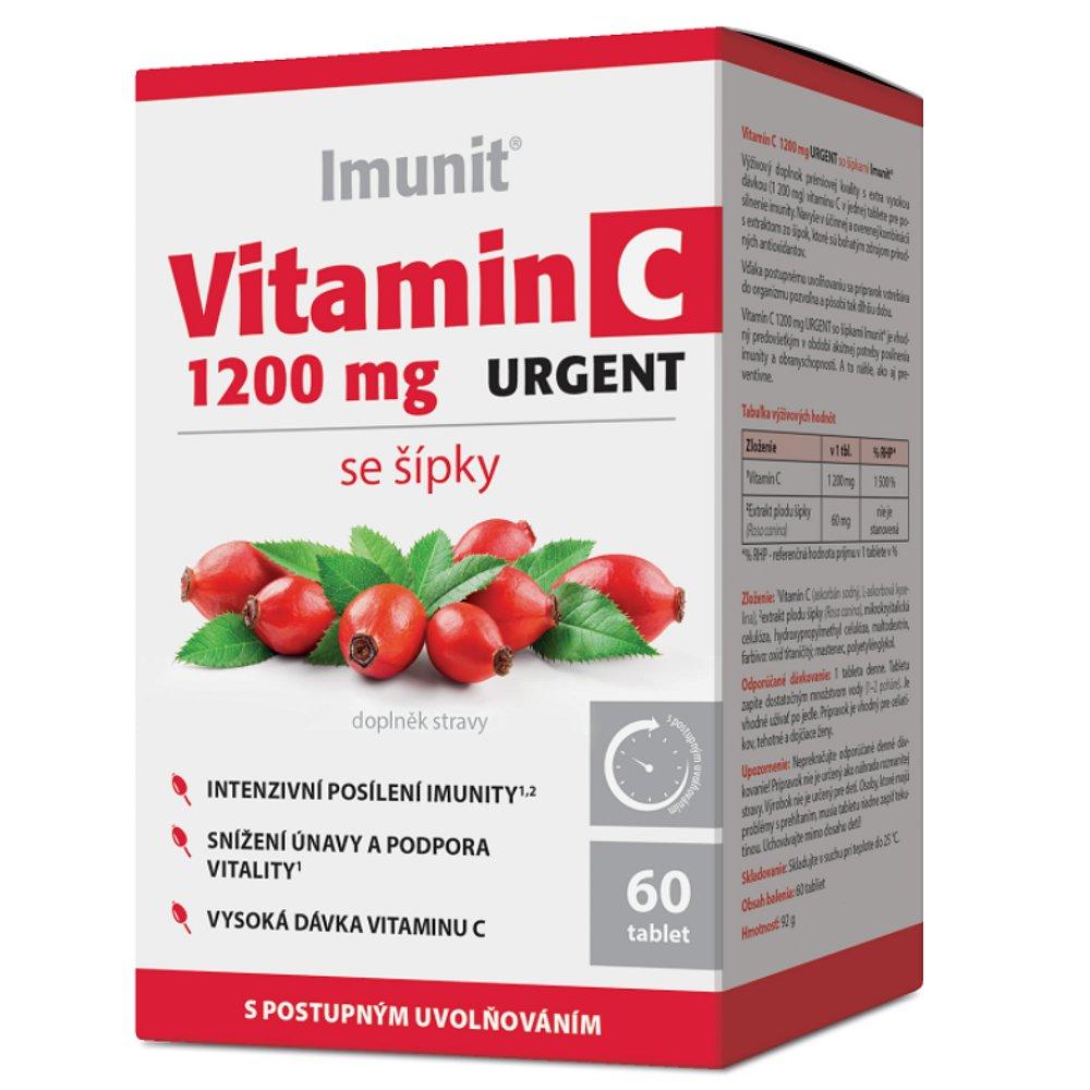 IMUNIT Vitamin C 1200 mg urgent se šípky 60 tablet