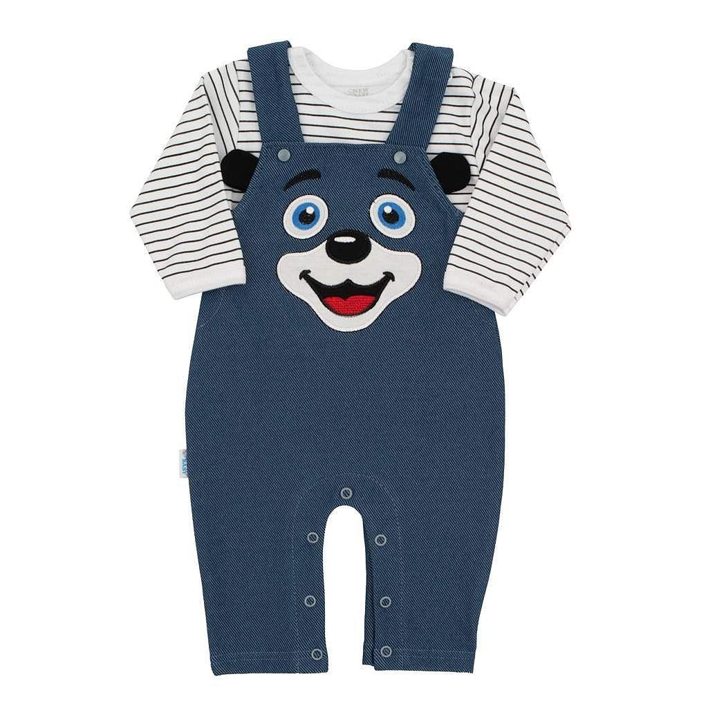 2-dílná kojenecká souprava New Baby For Babies modrá