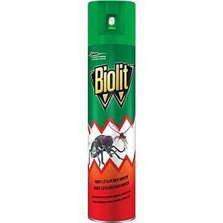 BIOLIT sprej proti létajícímu hmyzu bez parfemace 400 ml