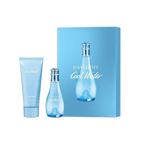 Davidoff Cool Water Woman set  dárková kazeta EdT 30 ml