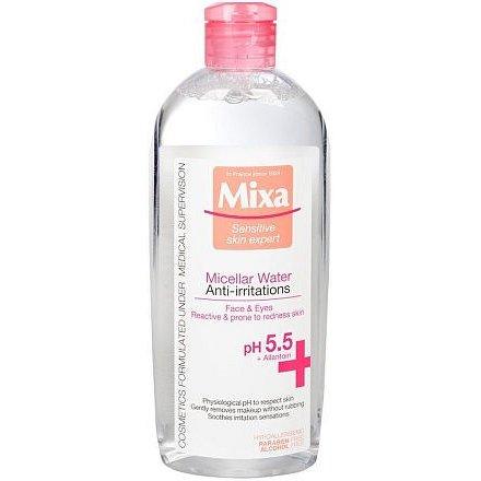 Mixa Anti-Redness micelární voda pro citlivou pleť se sklonem k začervenání 400ml