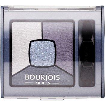 Bourjois Smoky Stories paleta kouřových očních stínů odstín 08 Ocean Obsession 3,2 g
