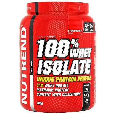 100% WHEY ISOLATE 900 g jahoda