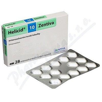 Helicid 10 Zentiva tvrdé tobolky 28x10mg