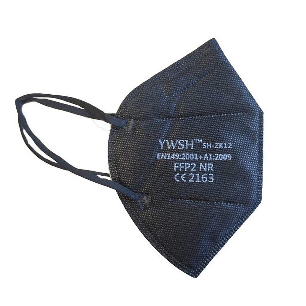YWSH FFP2 Respirátor 10 ks Černý