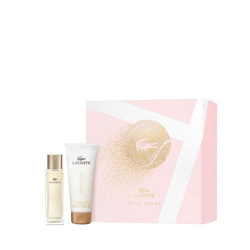 Lacoste Lacoste Pour Femme set dárková kazeta EdP 50 ml + Bl 100 ml