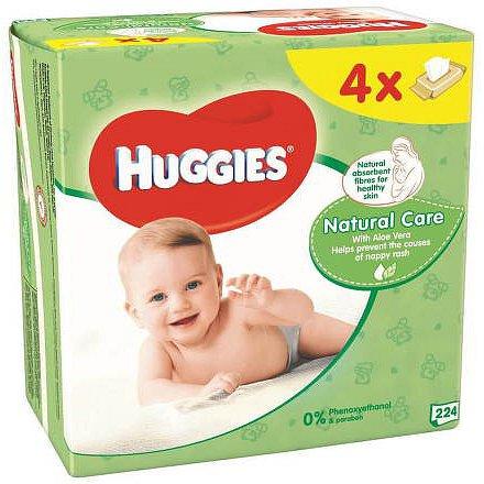 HUGGIES Natural Quatro (56x4)