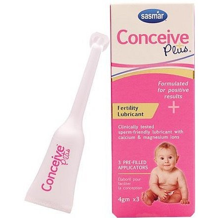Conceive Plus Lubrikační gel Aplikátor 3ks