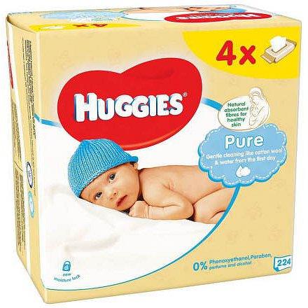 HUGGIES Pure Quatro (56x4)
