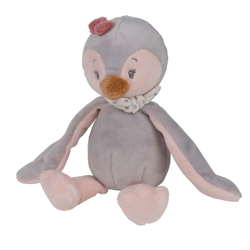 NATTOU Hračka plyšová chrastící tučňák Sasha PS 20 cm