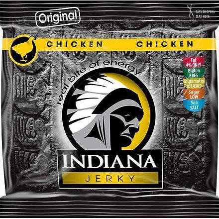 Indiana Jerky Kuřecí Original 60g