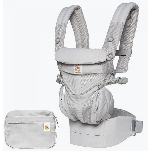 ERGOBABY Dětské nosítko Omni 360 Cool Air Mesh – Pearl Grey New