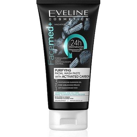 EVELINE Facemed pleťový čistící gel 3v1 150ml