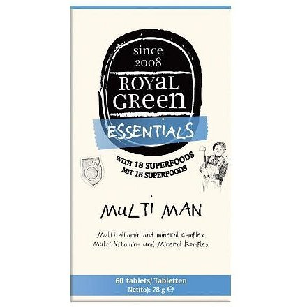 Royal Green Multivitamín pro muže 60 tbl.