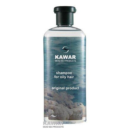 Šampon na mastné vlasy s minerály z Mrtvého moře 400ml