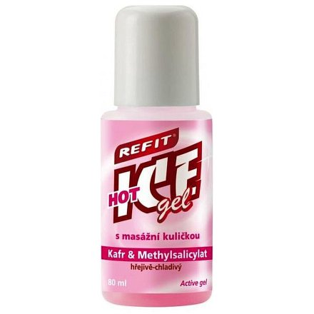 Refit Ice gel roll-on kafr hřejivě chladivý 80ml
