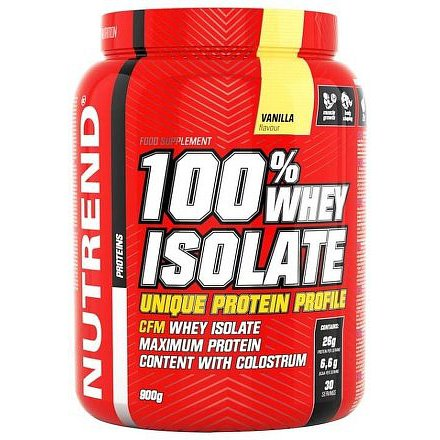 100% WHEY ISOLATE 900 g vanilka
